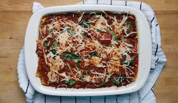 Classic Lasagna Made Vegan Meat Free Athlete Free Vegan