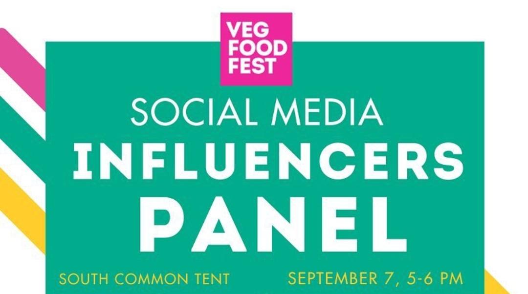 Toronto Veg Fest Social Media Influencer Panel